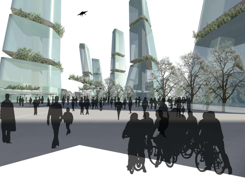 Sala Ferusic Architects City Hub Carles Sala Relja Ferusic